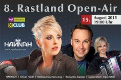 #Rastland #Open #Air Stargast #Hannah mit Oliver Haidt, Melissa Naschenweg und Romantik Express Open Air, Star Wars, Musik, Starwars, Star Wars Art
