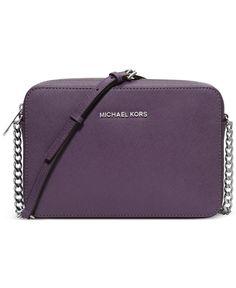 MICHAEL Michael Kors Jet Set Travel Large Crossbody - Crossbody & Messenger Bags - Handbags & Accessories - Macy's