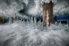 What 90 years of frost looks like: inside a Historic Chicago Cold Storage Facility
