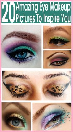 We present you some of the most awesome Eye makeup pictures that will make sure leave you wanting those on your own eyes.