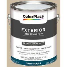 ColorPlace Exterior Paint, Mushroom Cap, #20YY 55/151