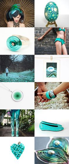 Green-ish by Deni on Etsy--Pinned with TreasuryPin.com