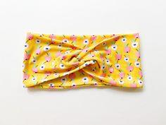 Tie Headband, Turban Headbands, Headbands For Women, Top Knot, Head Wraps, Color Patterns, Back To School, Flora, Spandex