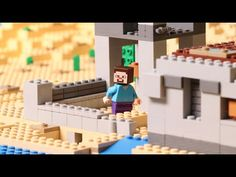 """""""The Cave"""" - LEGO Minecraft - Stop Motion - YouTube"""