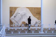 Antoni Tàpies. Col·lecció, # 5. 1 març– 9 juny 2013 Fotografia: Lluís Bover. © Fundació Antoni Tàpies. Publicat amb la llicència CC BY-NC-SA Painting, Art Studios, Artists, Painting Art, Paintings, Drawings