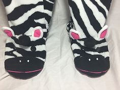 How fun is this--Nick & Nora Zebra Footed PJs! One Piece Black White Stripe Womens Pjs, Pajamas, Black White Stripes, Black And White, Nick And Nora, Fashionable Plus Size Clothing, Plus Size Outfits, One Piece, Clothes