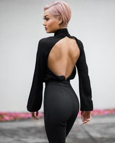 micah gianneli - Party in the back ♠️ Beauty And Fashion, Passion For Fashion, High Fashion, Cheap Fashion, Classy Outfits, Cute Outfits, Gros Pull Mohair, Outfit Vestidos, Best Street Style