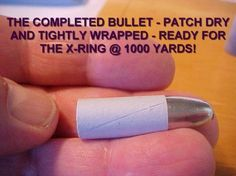 Paper Patching: A Pictorial Guide - A quick tutorial on paper patching bullets.
