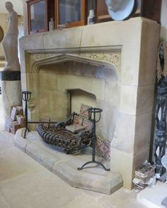 Fireplaces - Ronson ReclaimRonson Reclaim Cast Iron Stove, Fire Surround, Hearth, Fireplaces, Contemporary Style, Design, Log Burner, Fireplace Set, Home