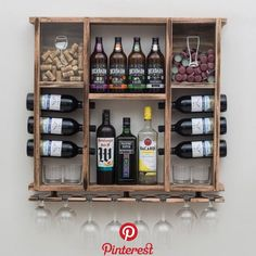 Wondering What You Dont Know About Wine Read This Article 3 – Wine Home Bar Rooms, Diy Home Bar, Diy Bar, Bars For Home, Wood Wine Racks, Wine Rack Wall, Wine Shelves, Wine Storage, Man Cave Home Bar