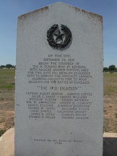 """""""Come And Take It"""" ... the Gonzales Monument - where the fight for Texas Independence Began.  www.DebbieKrug.com"""