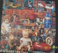 Springbok Puzzle Playthings from the Past PZL2424 Minus 2 Pieces #Springbok