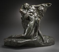 Auguste Rodin (France, 1840-1917), Eternal Spring, circa 1881-1884, cast before 1917 (?), Mr. and Mrs. Allan C. Balch Collection (M.45.3.476) #lacma #valentinesday  #rodin Henry Miller, Auguste Rodin, Peruvian Lilies, Susan Sontag, Baroque Art, David Hockney, Adam And Eve, Large Painting, Spring Time
