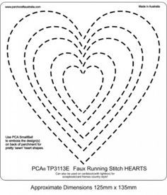 5 free heart shaped printable templates for your craft for Heart template for sewing