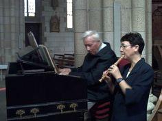 Pont-Scorff 31.5.2011 - Duo Christine Fuxa & Louis-Jean Guillou - Vidéo : https://youtu.be/O-nzfFAZJ6w