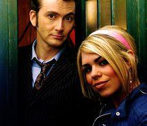 David Tennant & Billie Piper (The Doctor & Rose Tyler)