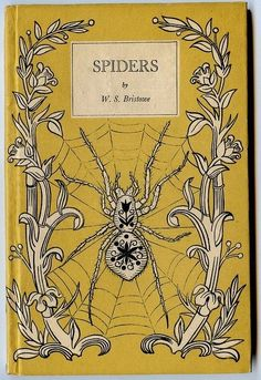 Vintage Book Covers: Spooky BeautifulAntiques  Whether or not you like spiders…this is rather special. #antiquebooks