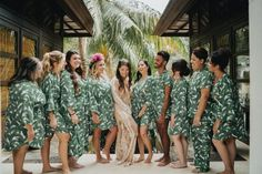 This Colorful Villa at the Sanctuary Bali Wedding is a Magically Tropical Wonderland