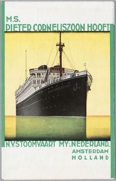 Stoomvaart Maatschappij Nederland. M.S Pieter Corneliszoon Hooft