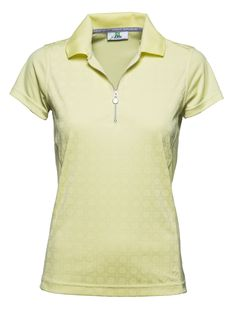 Aileen Cap/S Polo Shirt 100% Polyester. Quick Dry.Single Jersey.Technical Stretch.Front Tone on Tone Print #DailySportsUSA #PompanoBeach #sale