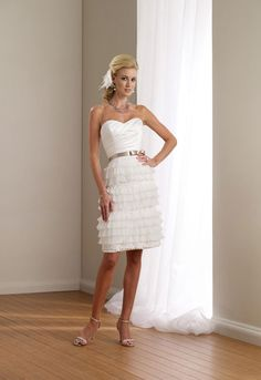 Images Gallery Related To Simple And Modern Short Wedding Dresses