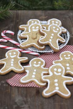Gingerbread Men, Laktosefreie Post aus meiner Küche