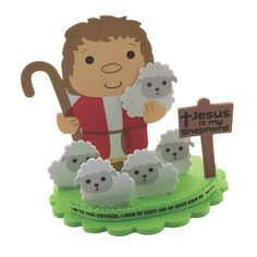 Celebrate the Good Shepherd with this fun and simple Bible craft. Easy for kids to complete and even easier to clean up after, this cute craft celebra. Sheep Crafts, Nativity Crafts, Quick Crafts, Cute Crafts, David And Goliath Craft, Bible Crafts For Kids, Kid Crafts, The Good Shepherd, Sunday School Crafts