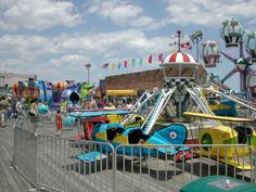 Rides on the Point Pleasant Boardwalk