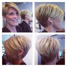 20 Recent Short Haircuts for Women Over 50 Short Hair Cuts For Women, Short Hairstyles For Women, Bob Hairstyles, Short Hair Styles, Blonde Pixie Hair, White Blonde Hair, Medium Short Haircuts, Cute Short Haircuts, Easy Hair Cuts