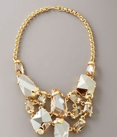 I'm not usually into gaudy jewelry, but I   LOVE this!