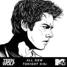 Will the pack find a way to remember Stiles during TONIGHT's new episode? | Art by Joe Cosentino