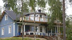 Villa Somosenranta in Rovaniemi, Lapland, Finland Lapland Finland, Villa, Cabin, Luxury, House Styles, Places, Beautiful, Home Decor, Decoration Home