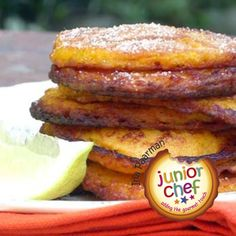 Whip up these heavenly Masala and Butternut Fritters for dinner Ingredients 2 cups ml) cooked and mashed butternut cup ml) flour 1 t ml) Ina Paarman's […] Pumpkin Fritters, Squash Fritters, Veggie Recipes, Low Carb Recipes, Vegetarian Recipes, Mashed Butternut Squash, Sweet Potato Fritters, Masala Spice, Pakora Recipes