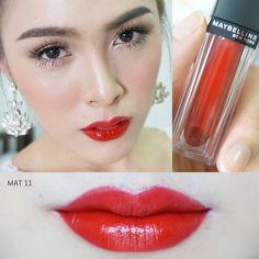 Maybelline Vivid Matte (aka Velvet Matte) Liquid Lipstick by Color Sensational in MAT11