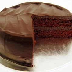"""SUGAR FREE Chocolate Cake. I doubled this recipe and changed the vanilla extract to Hazelnut. it was awesome I only baked for 30 min. calls for 55min. Had I done that the whole cake would have gone up in smoke. made two 9"""" two 8"""" and two 6""""."""