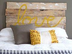Veja algumas lindas ideias para enfeitar seu quarto! Cabeceiras DIY super fáceis para você fazer.