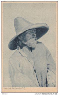 Indio de Hochimilco, D.F. , Mexico , 1920s ; Hugo BREHME image - Delcampe.com