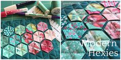 Tutorial | Modern Hexies (English Paper Piecing)