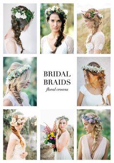 Wedding Hair Inspiration: 32 Fresh & Feminine Braids | Bridal Musings Wedding Blog