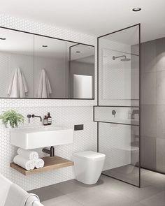 50 elegant modern bathroom design ideas (10)
