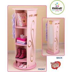 KidKraft - Princess Dress-Up Unit - Walmart.com