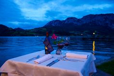 Hotel Stadler has shared 1 photo with you! Dinner, Luxury, Dining, Food Dinners, Dinners