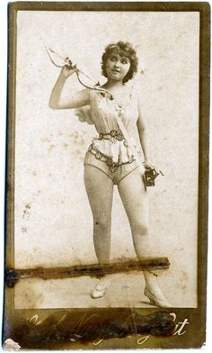 Darling Cupid, Burlesque, Exotic Dancers from the 19th Century #exotic #dancers