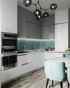 """modern and inspiring luxury kitchen design ideas 43 """"Interior Design - Homework - Kitchenideas 2020 Kitchen Room Design, Luxury Kitchen Design, Best Kitchen Designs, Luxury Kitchens, Living Room Kitchen, Home Decor Kitchen, Kitchen Layout, Interior Design Kitchen, Home Kitchens"""