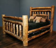 gorgeous bed frame