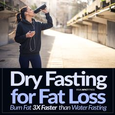 Dry fasting is a new and exciting weight loss technique. Dry fasting, also known as fat fast or water fast, has rapidly become popular for people looking to lose weight because of its ability to burn fat 3x faster than traditional water fasting.