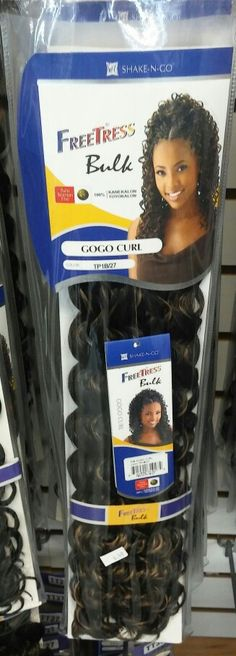 FreeTress- Gogo Curl Crochet braids