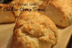 These Cheddar Cheese Scones are sure to be a new favourite in your house. Modified slightly from Chef Michael Smith's recipe - they are flaky and delicious.