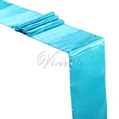 """5PCS Turquoise/Light Blue Satin Table Runners 12"""" x 108'' Wedding Party Banquet Home Hotel Table Decorations 30cm x 275cm Sale Only For US $10.19 on the link"""