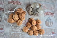 kokosky z tvarohového těsta